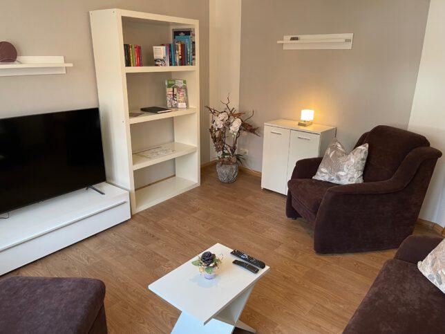 Wohnzimmer im Apartment